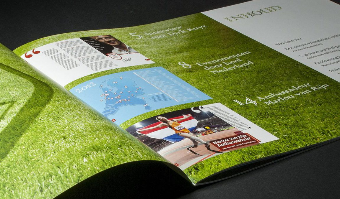 Dirk Kuyt Foundation, brochure
