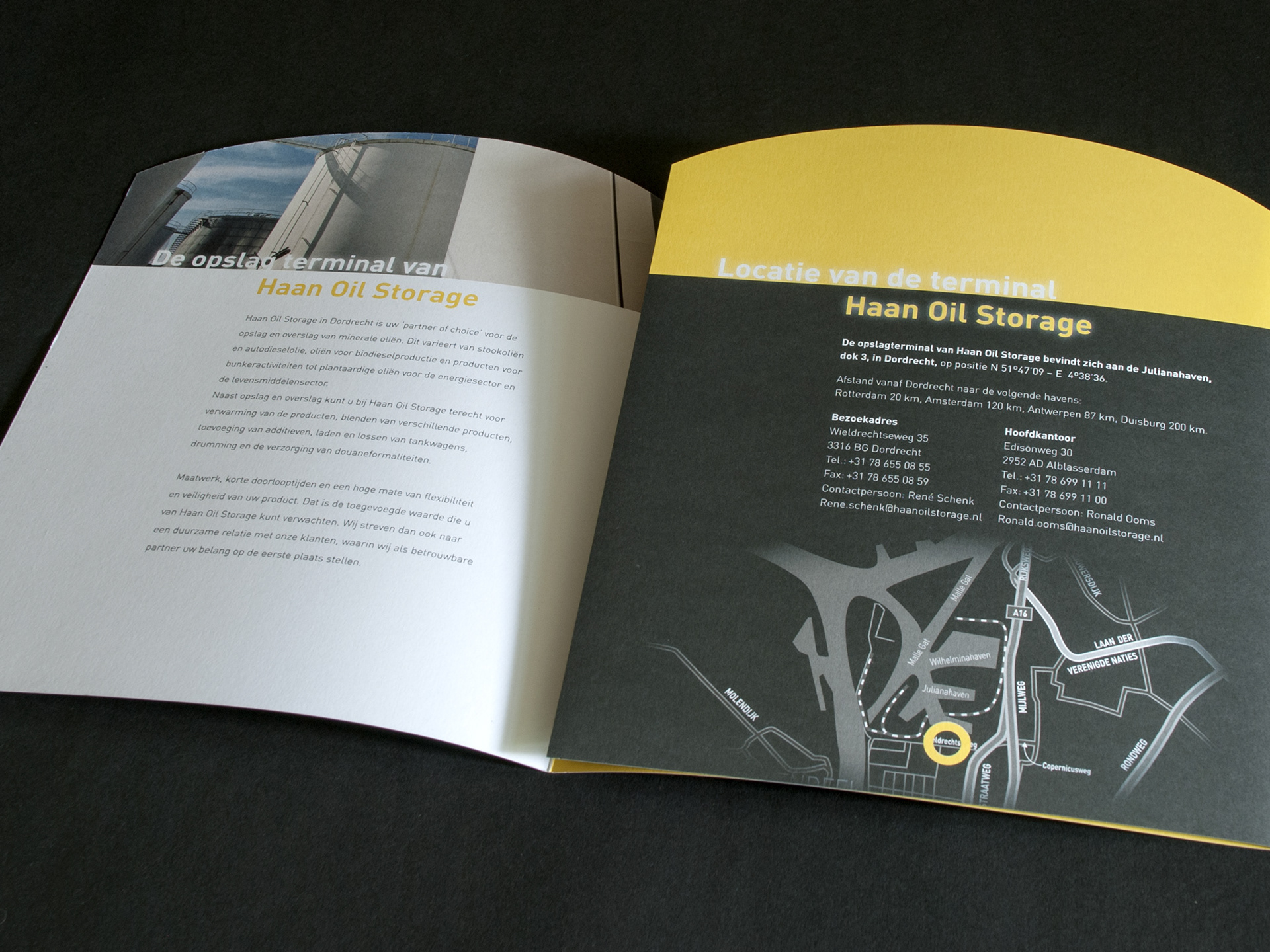 Haan oil storage, brochure