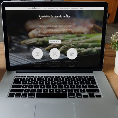 WP website Restaurant op het Land